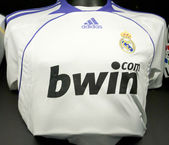 Real madryt koszula historyczne 2008 — Zdjęcie stockowe