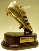 Złotego buta 2011 cristiano ronaldo — Zdjęcie stockowe