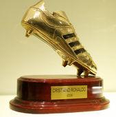 Golden Boot 2008 of Cristiano Ronaldo — Stock Photo