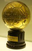 Złota piłka 2008 cristiano ronaldo — Zdjęcie stockowe