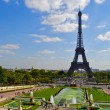 Stock Photo: Trocadero, Paris, near Eiffel Tower