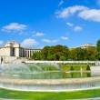 Stock Photo: Fountain of Trocadero