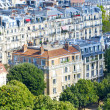Paris from the Eiffel tower — Stock Photo #13237003