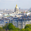 Paris from the Eiffel tower — Stock Photo #13237011