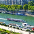 Stock Photo: River Seine, Paris, France