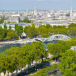 Stock Photo: River Seine, view