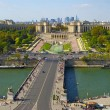 Stock Photo: Bridge to Trocadero