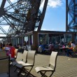 Restaurant on the first floor of the Eiffel tower — Stock Photo #13237389