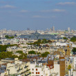 Stock Photo: Panoramic view of Paris, France