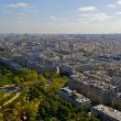 View of the city of Paris - Stock Photo