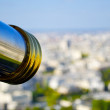 Telescope over Paris, France - Foto Stock