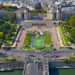 Stock Photo: Trocadero square, Paris, France
