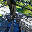 Eiffel tower stairs — Stock Photo