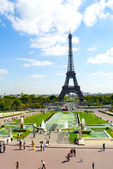 Paris Eiffel tower — Stock Photo