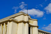 Palace in the Trocadero square — Stock Photo