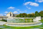 Fountain of the Trocadero — Stock Photo