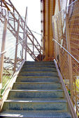 Stairs of the Eiffel Tower — Stock Photo