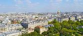 Utsikt över paris från eiffeltornet — Stockfoto