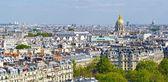 Piękny widok na paryż z wieży eiffla — Zdjęcie stockowe