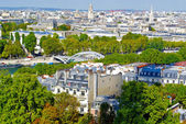 Parigi, senna, vista panoramica — Foto Stock