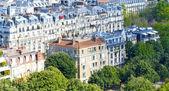 Paryż z wieży eiffla — Zdjęcie stockowe