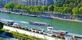 River Seine, Paris, France — Stock Photo