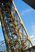 Część wieży eiffla — Zdjęcie stockowe
