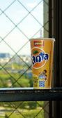 Fanta cup — Stock Photo