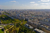 View of the city of Paris — Stock Photo