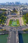 Trocadero square, Paris, France — Stock Photo