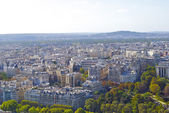 View from the Eifel Tower — Stock Photo