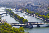 Bridge of the bridges of Paris — Stock Photo