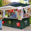 Kiosk in the park — Stock Photo