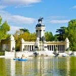 Monument to Alonso XII, Buen Retiro park, Madrid, Spain — Stock Photo #13282510