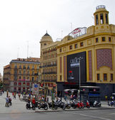 Plaza de Callao, Callao square, Madrid, Spain — Stock Photo
