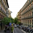 The streets of Madrid, Spain — Stock Photo