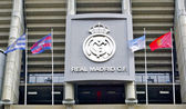 MADRID, SPAIN:Santiago Bernabeu Stadium of Real Madrid in Madrid, Spain. — Stock Photo