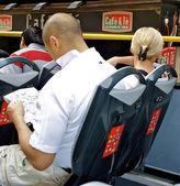 Turist otobüsü — Stok fotoğraf