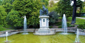 Water Fountain in Park — Stock Photo