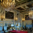 Stock Photo: Room in castle Fontainebleau,France