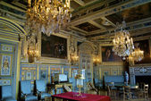 Room in the castle Fontainebleau,France — Stock Photo