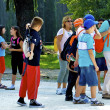 Group of tourists — Stock Photo #13380461