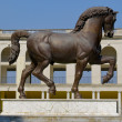 Horse monument in MIlan — Stock Photo #13380987