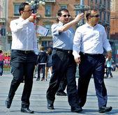 Three well dressed men — Stock Photo