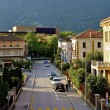 Streets of Bellinzona, Switzerland - Stock Photo