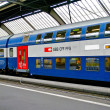 Train of the SBB, railway company of Switzerland — Stock Photo