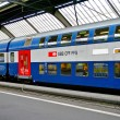 Train of the SBB, railway company of Switzerland — Foto Stock