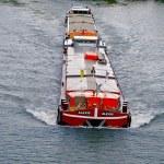 Boat over the Seine — Stock Photo #13455865