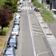 Road with cars in Paris — Stock Photo #13457268