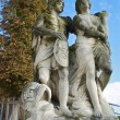 图库照片: Monument in Parc de Saint-Cloud, Paris, France